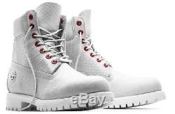 Timberland Serpent White Limited A1p9q100 6 Inch Waterproof Boots Sold Out 10.5