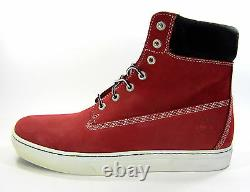 Timberland Shoes 6 Inch Premium Red/Black Boots Size 11