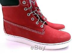 Timberland Shoes 6 Inch Premium Suede Red Boots Size 11