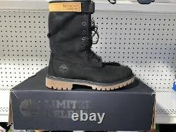 Timberland Special Release 6 Inch Premium Gaiter Mens Leather Boots Size 9 Black