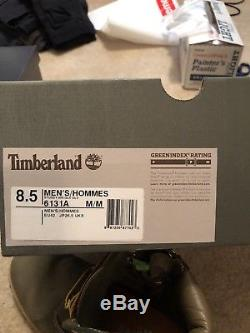Timberland Stussy 6 Inch Olive size 8.5