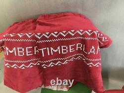 Timberland The Ugly Sweater 2018 Christmas Boots Men's Size 12M New Open Box