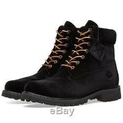 Timberland X Off White 6-inch Velvet Boots A1q8i001 Limited Release All Sizes