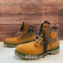 Timberland X Shoe Palace Men's 6 IN Wheat Nubuck Classic Boot TB0A1UBW-231 US8.5