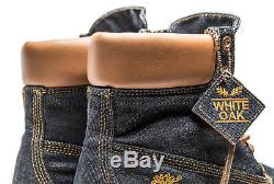 Timberland X White Oak 6 Inch Mens Boots Denim Limited Release Heritage USA