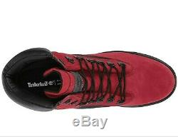 Timberland field boots 6 inch Red/Black Size Mens size 13