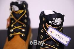 Timberland x The North Face 700 Fill 6 Inch Premium Boot Wheat Black SZ 8 12