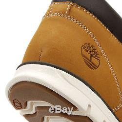 Timberlands Mens Chukka Boots Wheat Yellow Bradstreet Leather Lace Up Shoes