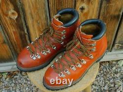 Wow! Rare! Vintage Irish Setter Hiking Boots Red Wing Classics Oro Russet 9.5d