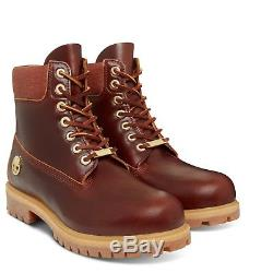 A1p9ph New Hommes Timberland 6 '' Premium Boot Cuir Marron Proof Toutes Les Tailles