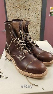 Bottes Pour Hommes Timberland Boot Company Coulter 9-eye 4115r Taille 8m Nouveau