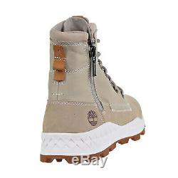 Bottes Pour Hommes Timberland Brooklyn Side Zip Light Taupe Tb0a1ymk