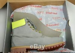 Bottes Safty Timberland Pour Hommes Taille 10 Newithbox Gris / Neon Vert Tb0a14bf