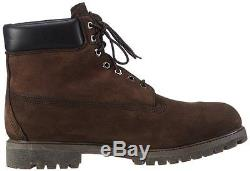 Chaussures Pour Hommes Timberland 6 Inch Premium Waterproof Boots 10001 Dark Brown Nouveau