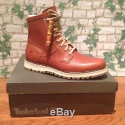Colline Britton Timberland Homme Plaine-toe Imperméable Bottes Style A197n Taille 10m