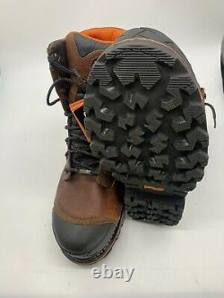 Homme Timberland Pro 8'' Comp Toe 89628 Brown Work Boots Taille 14w T62
