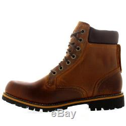 Hommes Timberland Earthkeepers Rugged 6 Pouces Plain Toe Casual Bottines Casual Toutes Les Tailles