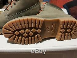 Limited Edition Et Rare Timberland Heritage Green Suede 6 Boot Nouveau Etanche