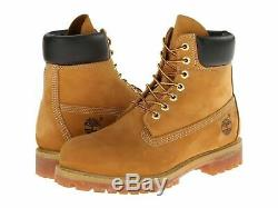 Men's Boots 6 Timberland Premium Inch Etanche 10061 Withl Ble