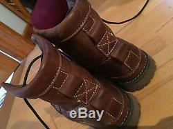 Men's Timberland Earthkeepers Bottes En Cuir D'origine 6 Pouces Uk Taille 9