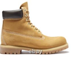 Mens Size 9 Timberland Boots New Without Box Msrp $198 Chaussures