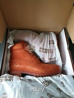 New Limited Edition Timberland Bottes Automne D'automne Taille 8.5 Rare
