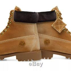 Offwhite X Timberland 6 Pouces Velvet Boot