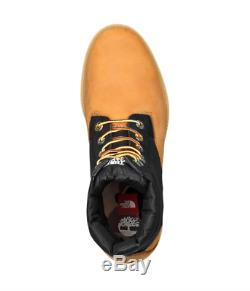 Rare The North Face X Timberland Collab 6 Taille Du Premium Puffer Bottes Hommes 12