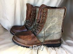 Rare Timberland Boot Company Tackhead Bottes Taille 13 Hommes Earthkeepers Cap Toe