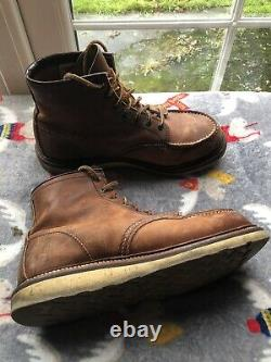 Red Wing 875 Moc Toe Boot Oro-legacy, Taille 7.5, Chaussures Pour Hommes, Fracap, Timberland
