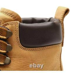 Rrp £ 170! Timberland 6 Inch Premium Waterproof Nubuck Leather Mens Classic Boots