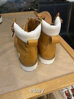Stussy X Timberland 2014 6 Pouces Botte Cuir Suprême Taille 8.5 Us Limited