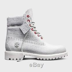 Timberland 6 Inch Boot White Serpent Limitee Limitée A1p9q100 Taille 8-13