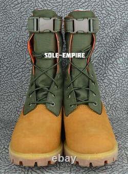 Timberland 6 Pouces Premium Gator Tb0a1qy8 Wheat Green New In Box Limted Edition