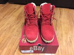 Timberland 6 Premium Construction Méchant Ou Nice Rouge Taille 11 Supreme Kith
