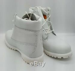 Timberland A1m6q 6 Pouces Bt Wp Hommes Blancs Taille 12