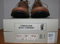 Timberland Boot Company Pour Hommes Chaussures / Bottes Chukka Wodehouse Style 7550924 Taille 10