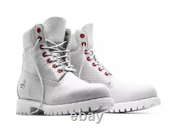 Timberland Boot Limited Release Tb0a1p9q White Serpent / Red Eyes Hommes 14