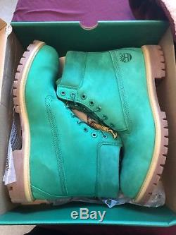 Timberland Bottes 6 Pouces Emerald Green Villa Limited Edition Mens Taille 12