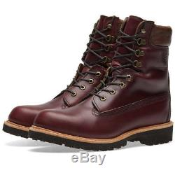 Timberland Bourgogne Horween Cuir 8 Pouces Boot Made In USA A1jxm648 10,5 500 $