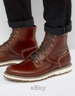 Timberland Britton Hill Pt Boot Homme Cuir Marron À Lacets
