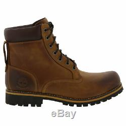 Timberland Earth Keeper Rugged 6 Pouces Hommes Bottes Imperméables Taille Uk 7-14.5