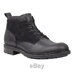 Timberland Earthkeepers Heritage Flatirons Homme Bottes Chukka Botte Noir 6730a