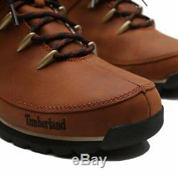 Timberland Euro Sprint Hiker A121k Hommes Bottes Bottines Brown Taille 8-11
