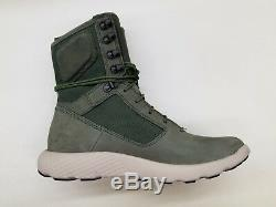 Timberland Flyroam Tactical Army Vert Off White Bottes De Baskets Taille Homme A1oal