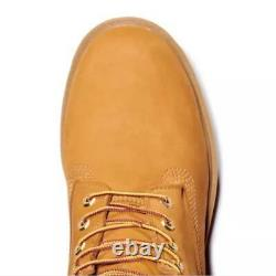 Timberland Homme 6 Pouces Basic Boot Wheat Nubuck Col Rembourré 18094 713