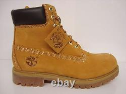 Timberland Homme 6premium Waterproof Leather Boot Wheat 10061 Select Size7.5-13