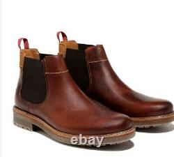 Timberland Homme Oakrock Chelsea Med Brown Full Grain Style A2cw4 Taille 11,5