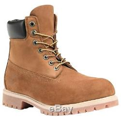 Timberland Icon 6in Premium Waterproof Boots Boots Nubuck Rouille Toutes Tailles