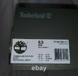 Timberland Limited Edition 40 Sous Hazel Highway Brown Leather Super Boot 8,5